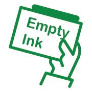 empty ink