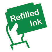 refilled ink